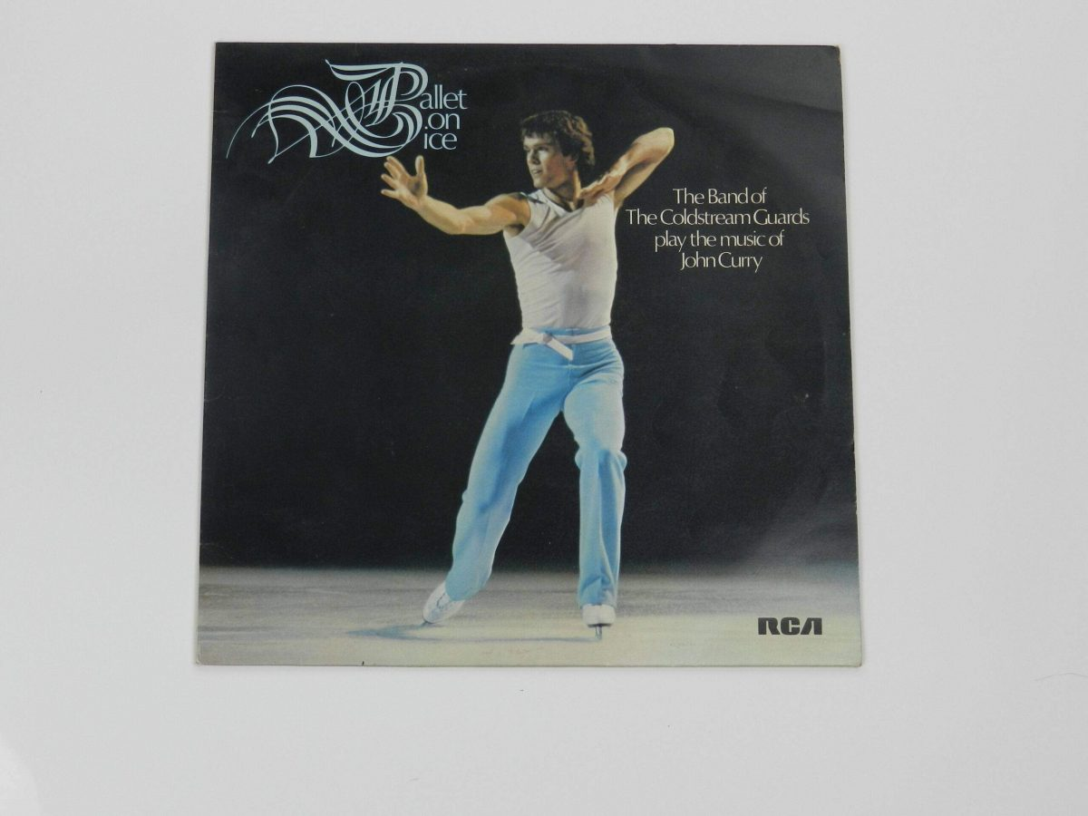Ballet on Ice Vinyl Record The band of coldstream Guards play the music of John Curry sleeve scaled