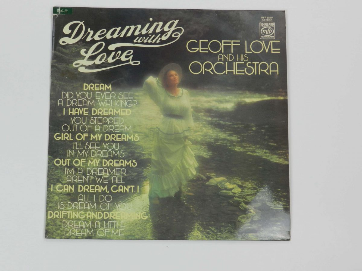 Geoff Love and his orchestra vinyl reord dreaming of love record sleeve scaled