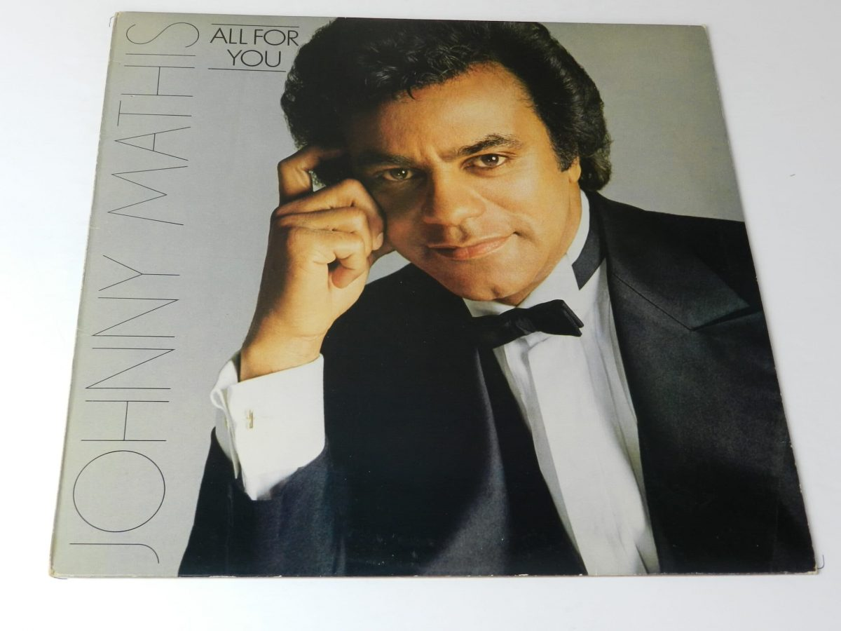 Johnny Mathis All for you vinyl record sleeve scaled
