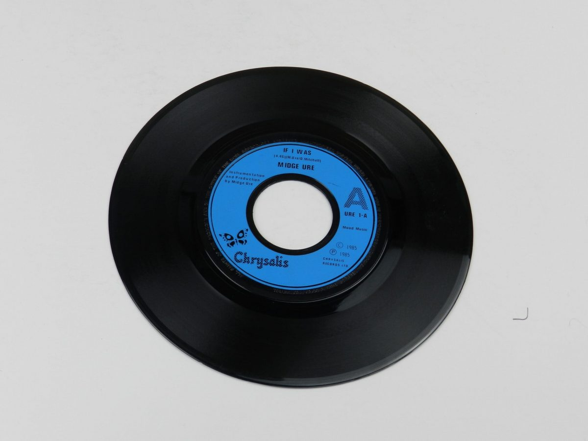 Midge Ure If I Was vinyl record side A scaled
