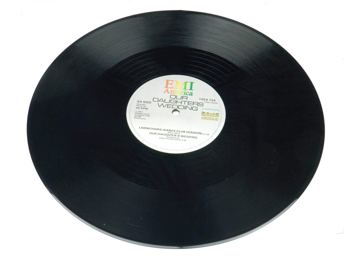 Our Daughters Wedding – Lawnchairs Airline vinyl record side B scaled