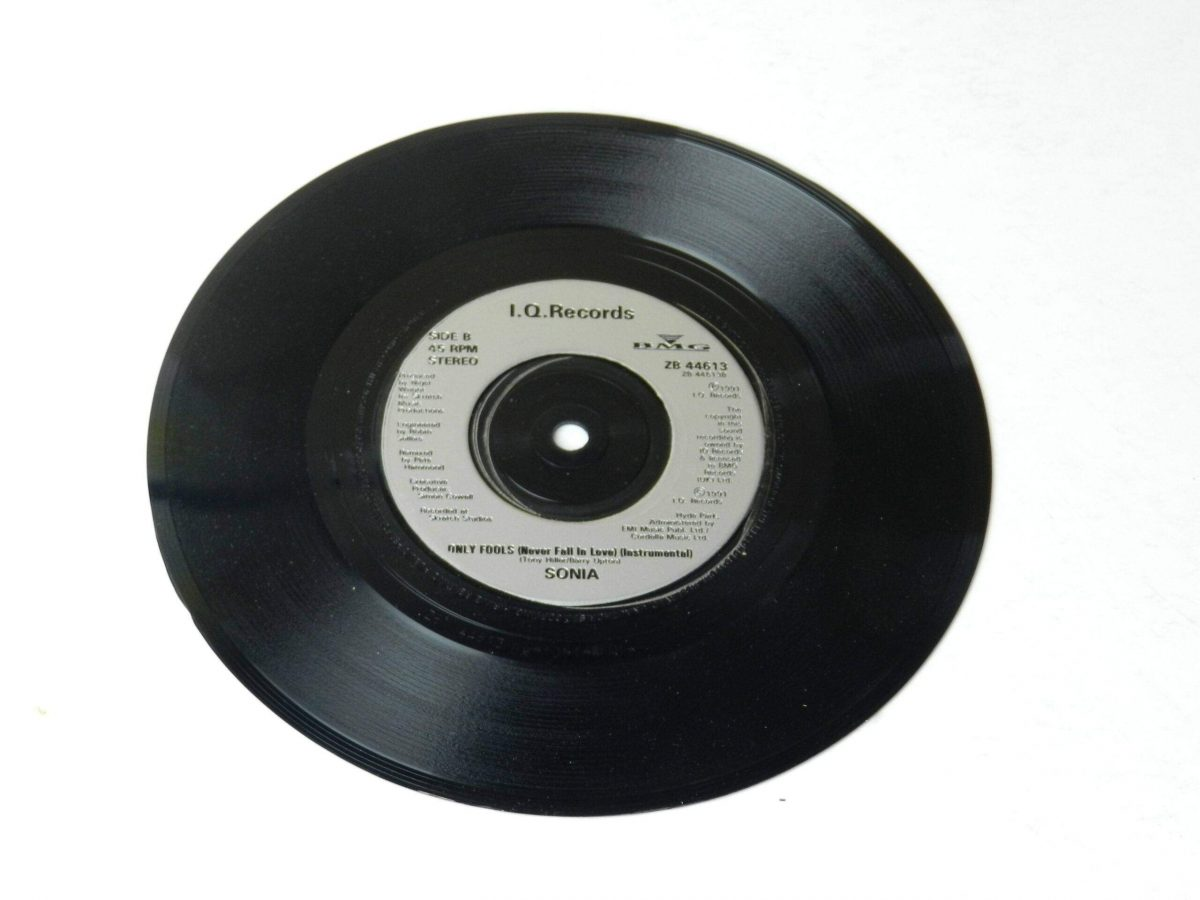 Sonia Only fools vinyl record side B scaled