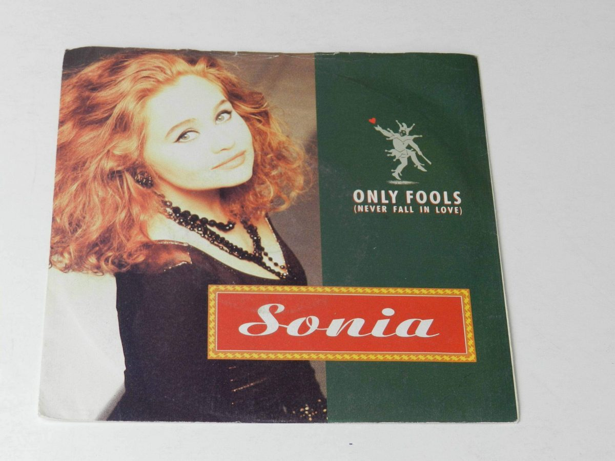 Sonia Only fools vinyl record sleeve scaled