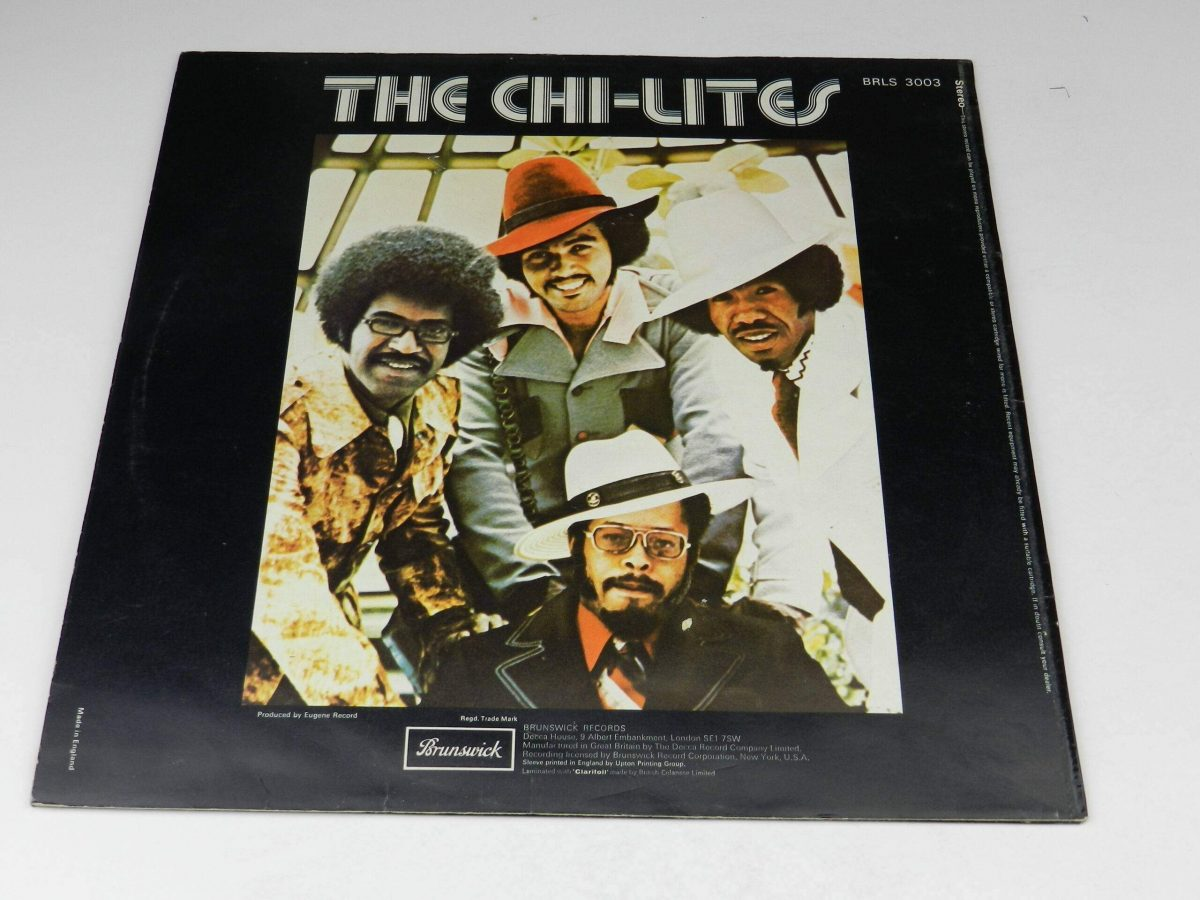 The Chi Lites – Greatest Hits vinyl record sleeve rear scaled