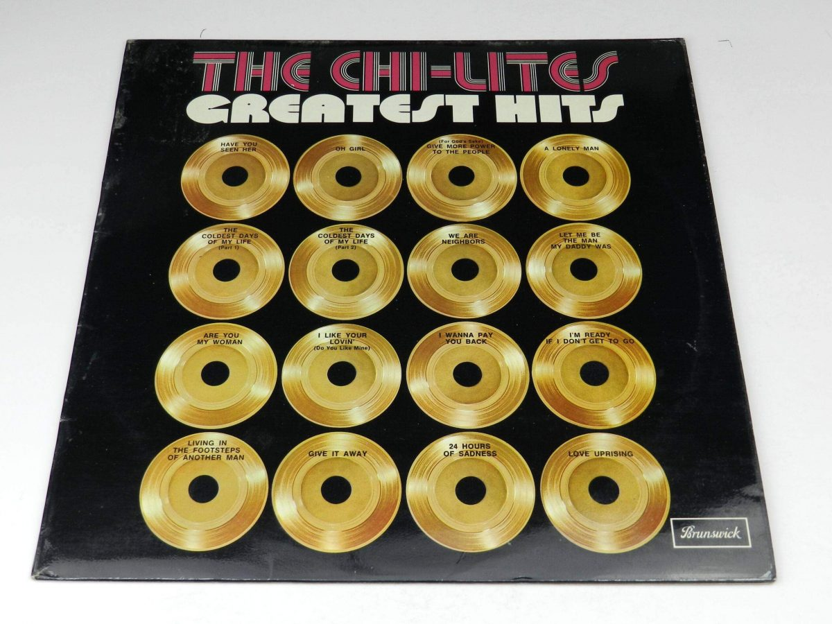 The Chi Lites – Greatest Hits vinyl record sleeve scaled