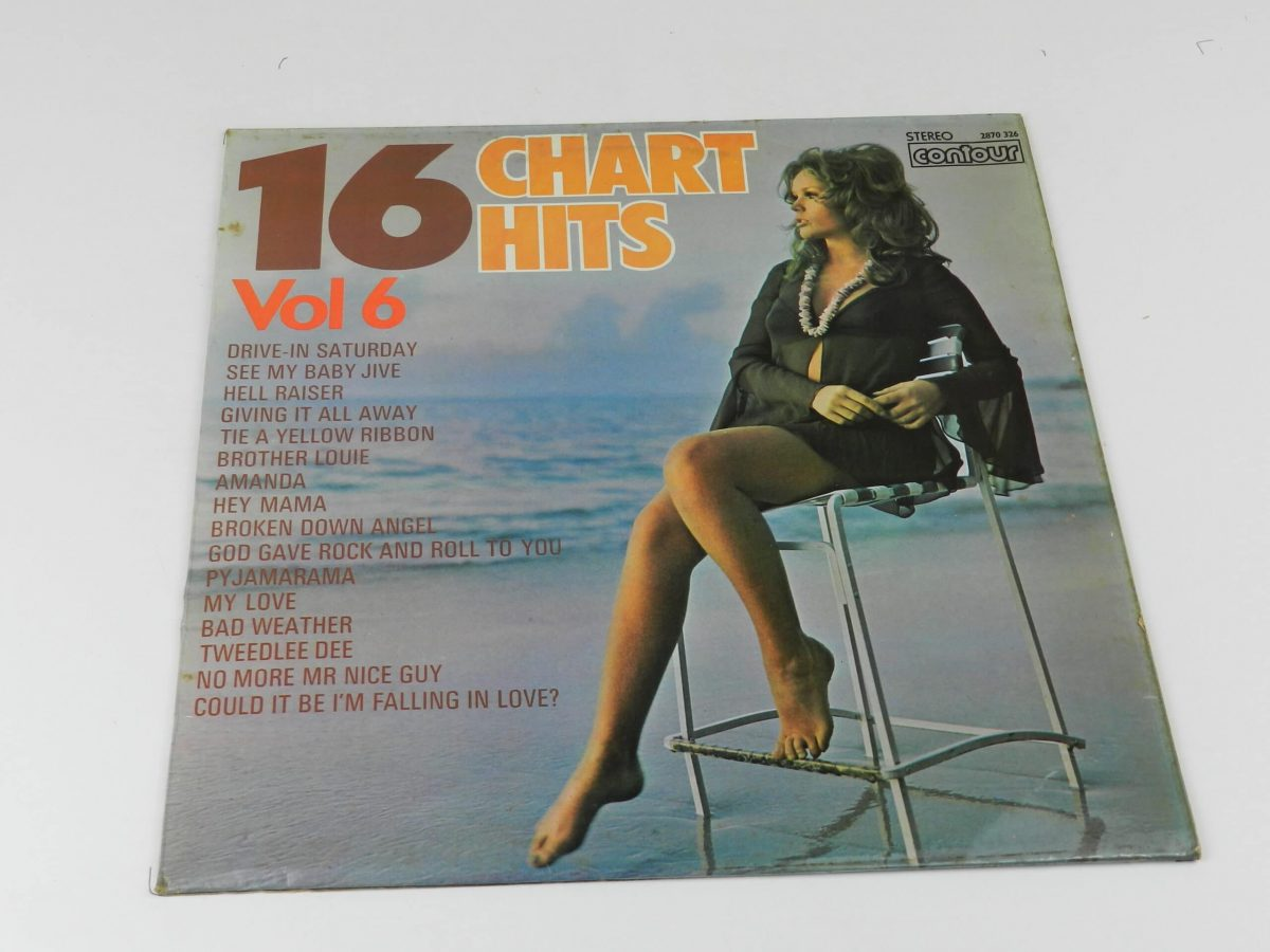 Unknown Artist – 16 Chart Hits Vol 6 vinyl record sleeve scaled