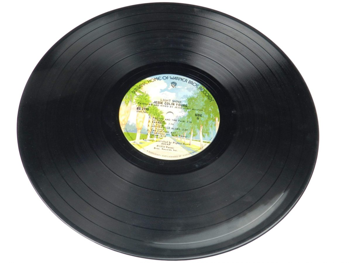 Jesse Colin Young – Light Shine vinyl record side B scaled