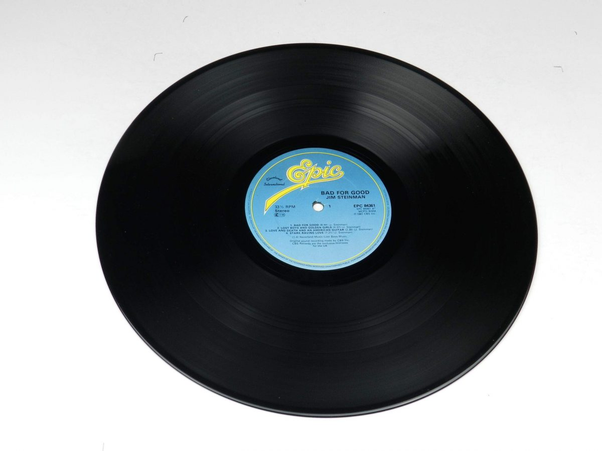 Jim Steinman – Bad For Good vinyl record side A scaled