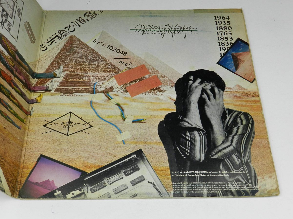 The Alan Parsons Project – Pyramid vinyl record sleeve gatefold 2 scaled