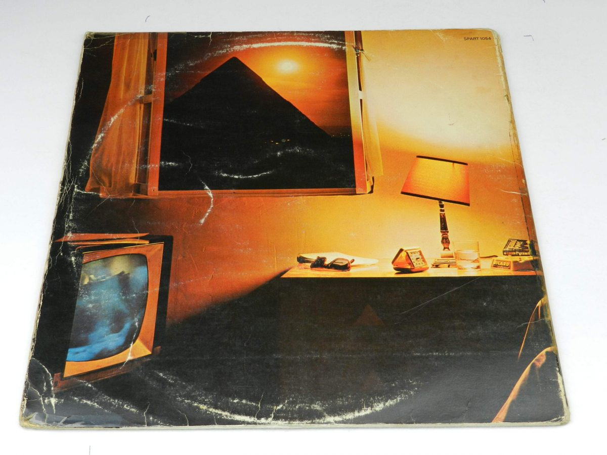 The Alan Parsons Project – Pyramid vinyl record sleeve rear scaled