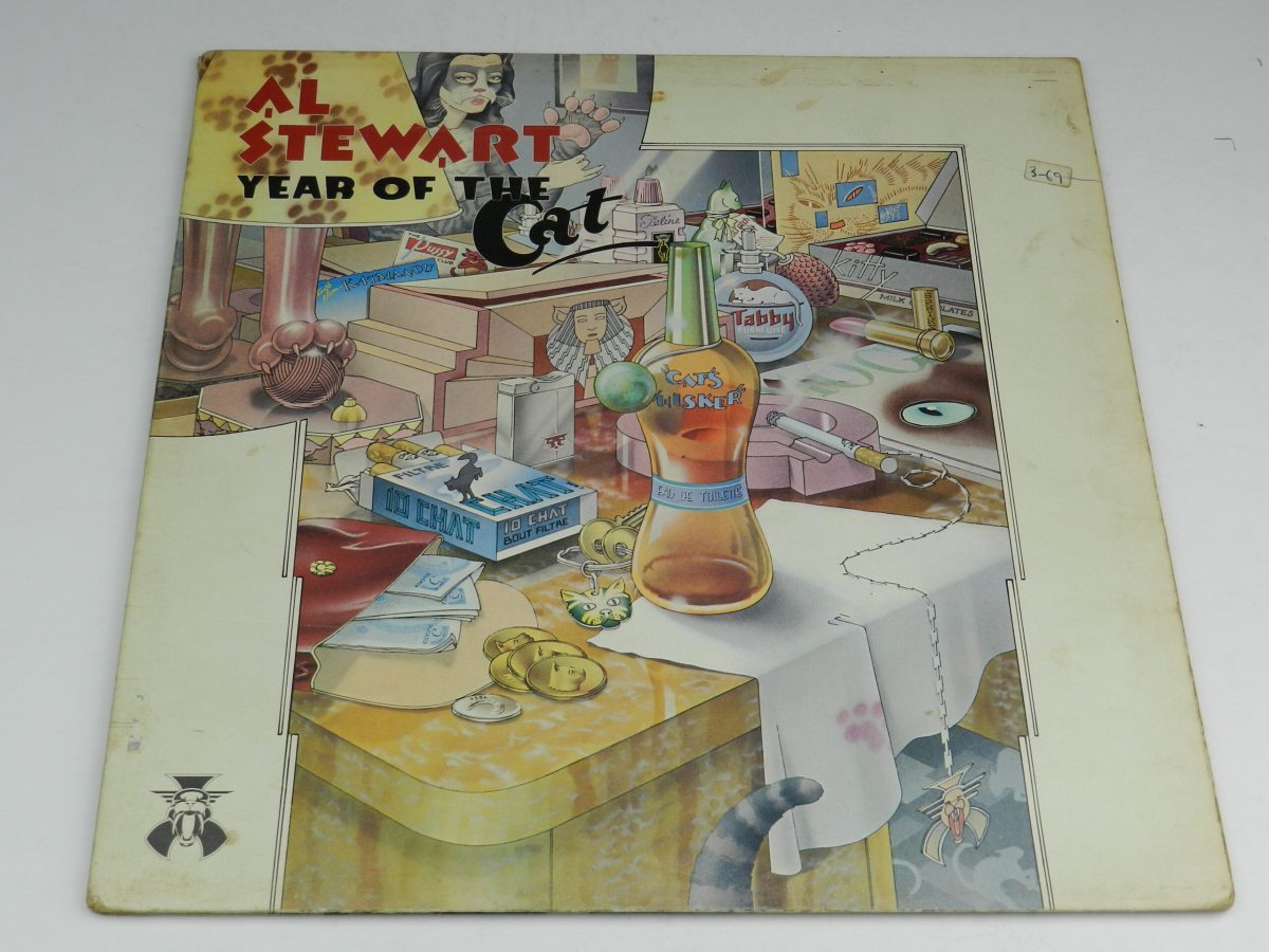 Al Stewart – Year Of The Cat vinyl record sleeve 1 scaled