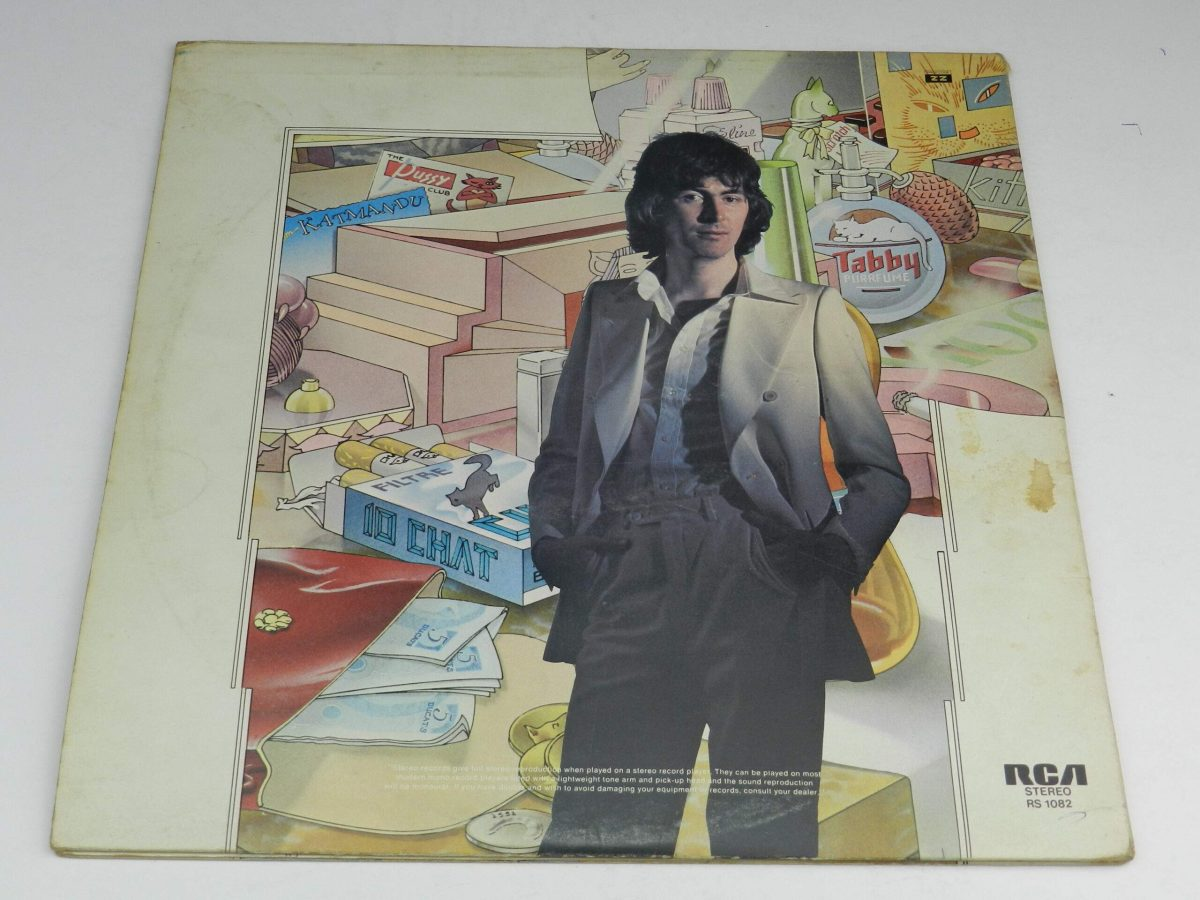 Al Stewart – Year Of The Cat vinyl record sleeve rear 1 scaled