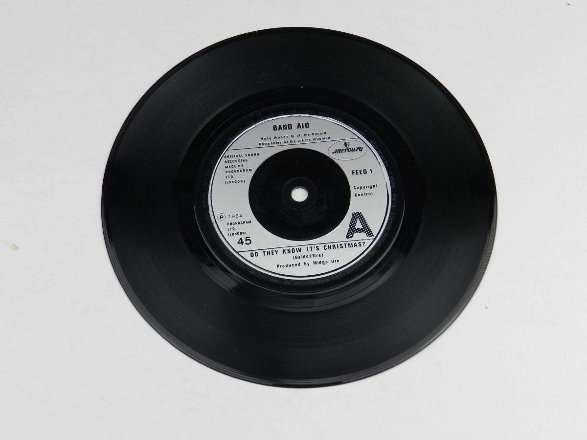 Band Aid – Do They Know Its Christmas vinyl record side A scaled