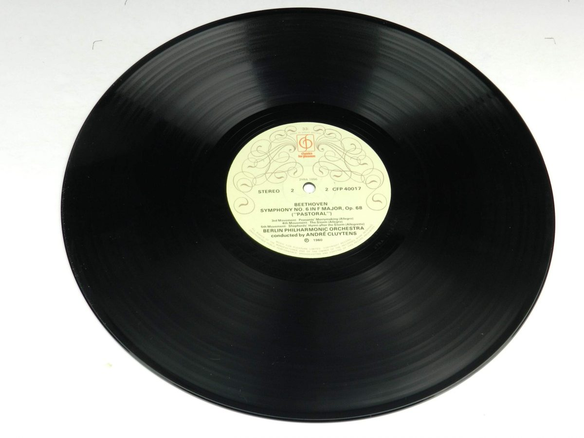 Beethoven Andre Cluytens The Berlin Philharmonic Orchestra – Symphony No6 In F Pastoral vinyl record side B scaled