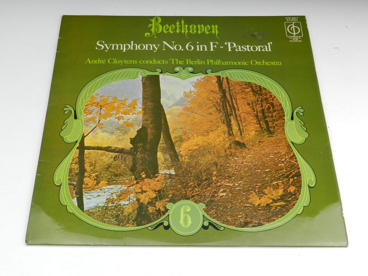 Beethoven Andre Cluytens The Berlin Philharmonic Orchestra – Symphony No6 In F Pastoral vinyl record sleeve scaled