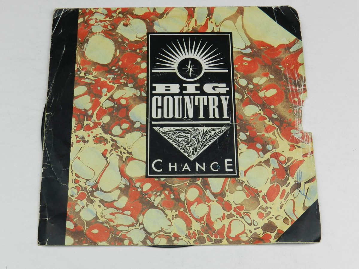 Big Country – Chance vinyl record sleeve scaled