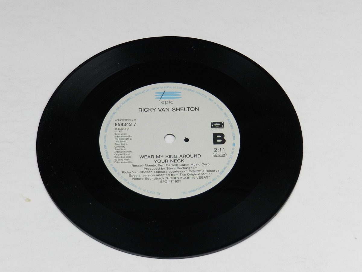 Billy Joel – All Shook Up vinyl record side B scaled