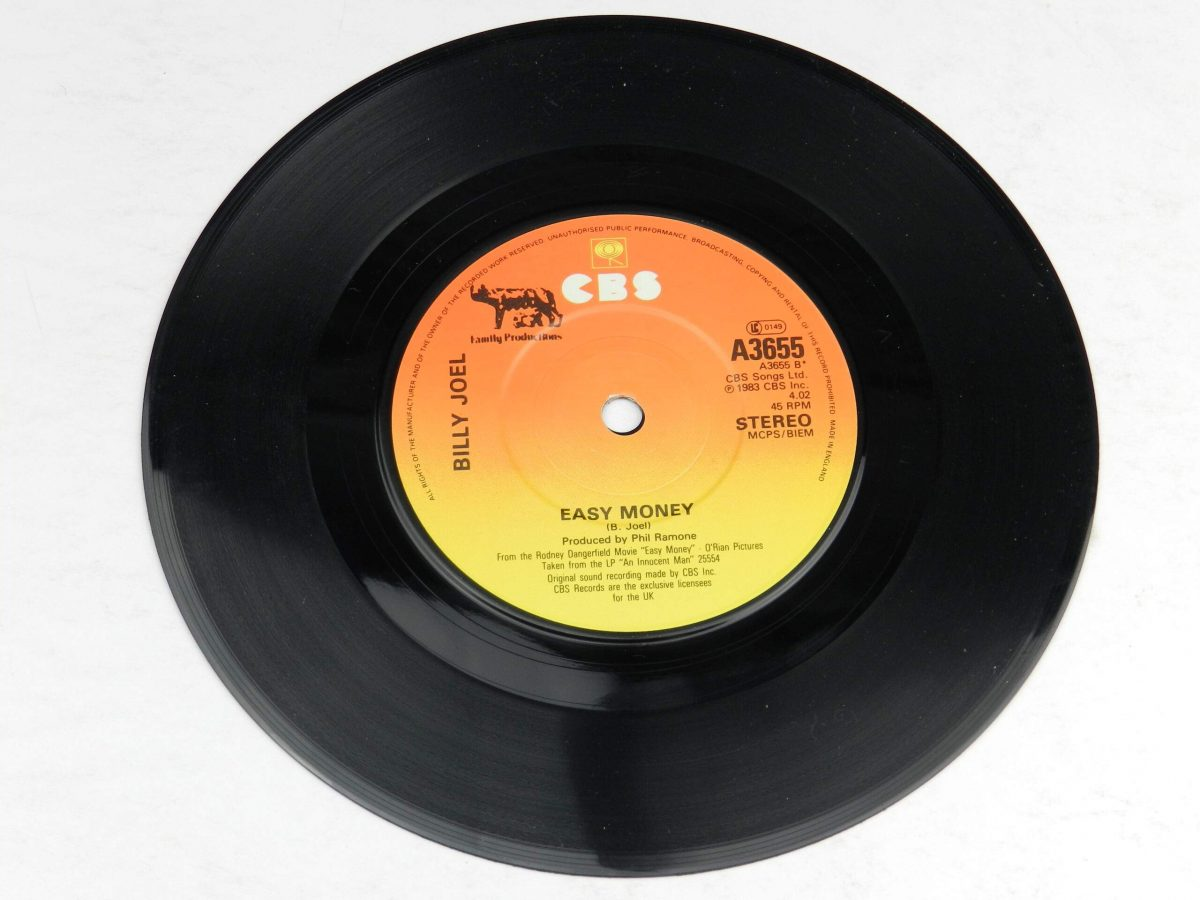 Billy Joel – Tell Her About It vinyl record side B scaled