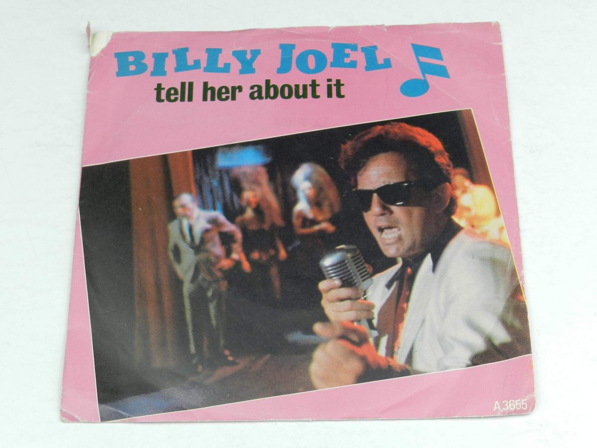 Billy Joel – Tell Her About It vinyl record sleeve scaled