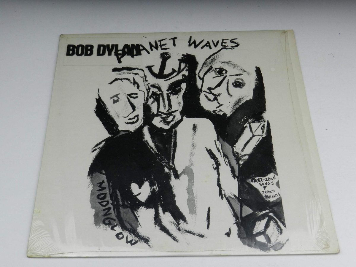 Bob Dylan – Planet Waves vinyl record sleeve scaled