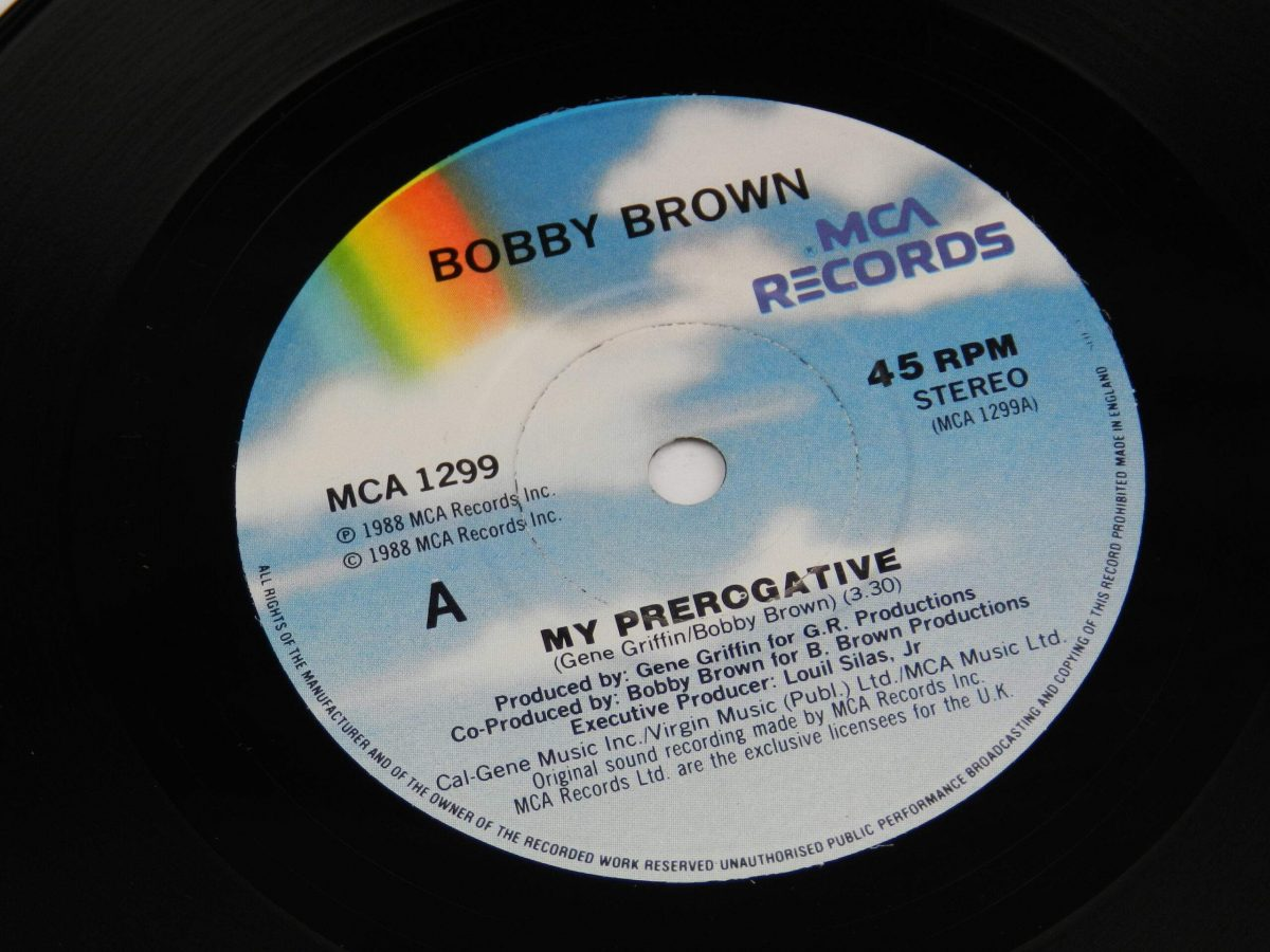 Bobby Brown – My Prerogative vinyl record side A label scaled
