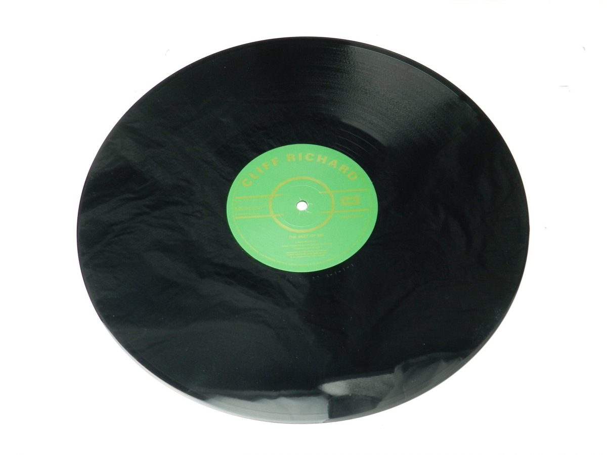 Cliff Richard – 100th Single vinyl record side A scaled