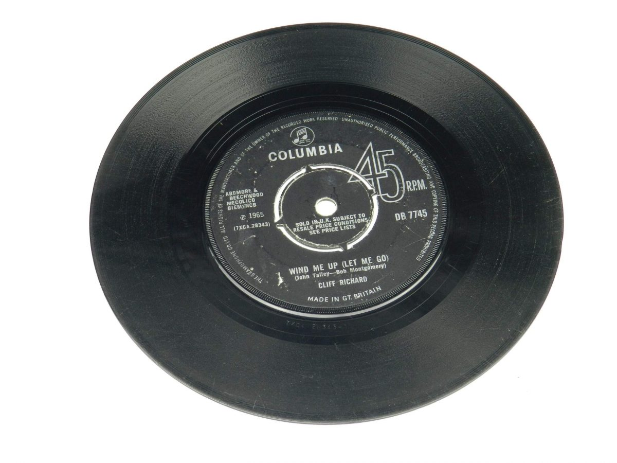 Cliff Richard – Wind Me Up Let Me Go vinyl record side B scaled