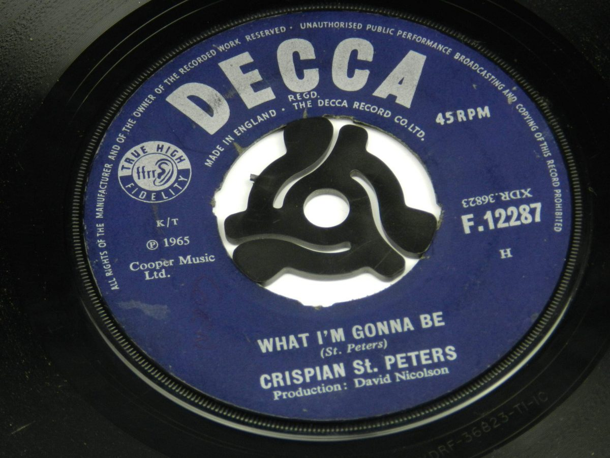 Crispian St Peters – You Were On My Mind vinyl record side A label scaled