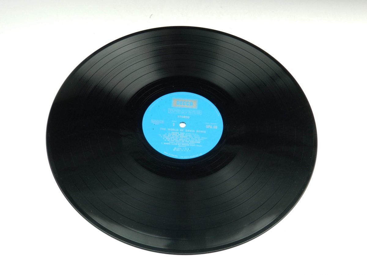 David Bowie – The World Of David Bowie vinyl record side B scaled