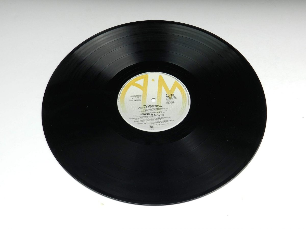 David and David – Boomtown vinyl record side A scaled