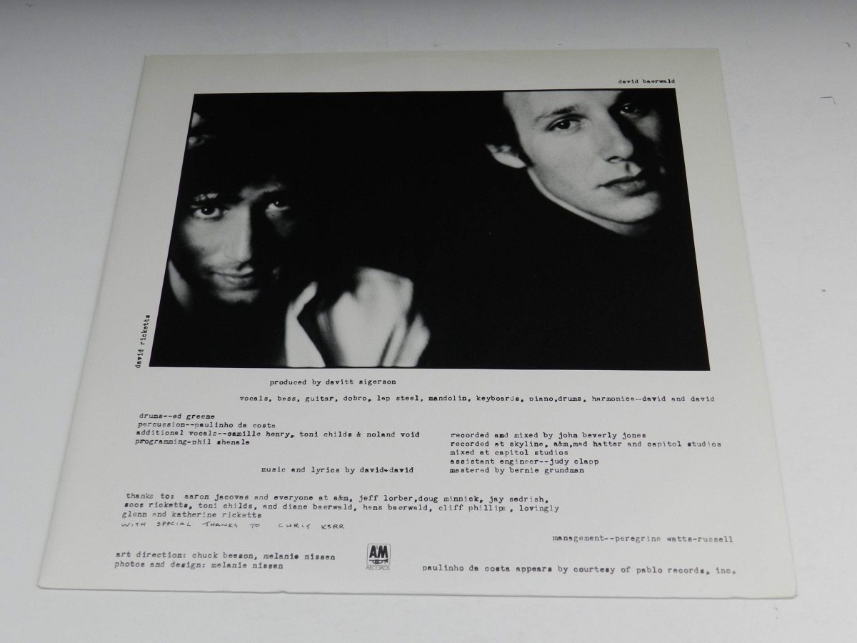 David and David – Boomtown vinyl record sleeve inner 1 scaled