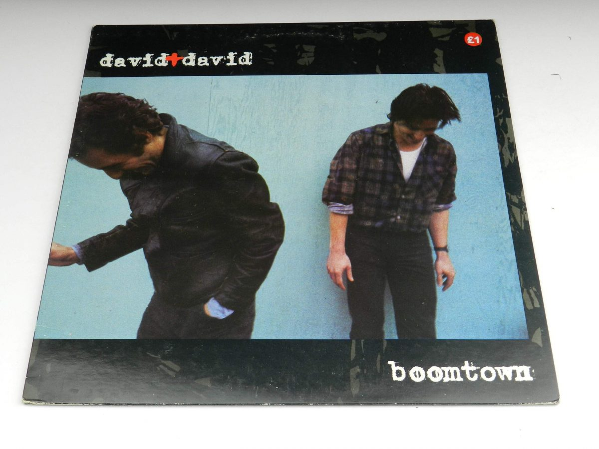 David and David – Boomtown vinyl record sleeve scaled