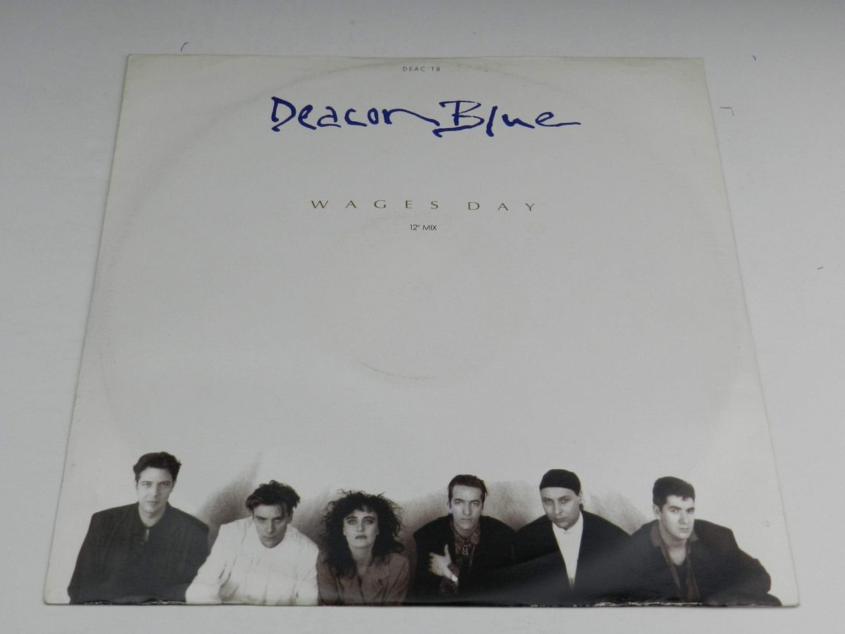 Deacon Blue – Wages Day vinyl record sleeve scaled