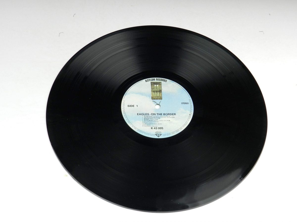 Eagles – On The Border vinyl record side A scaled