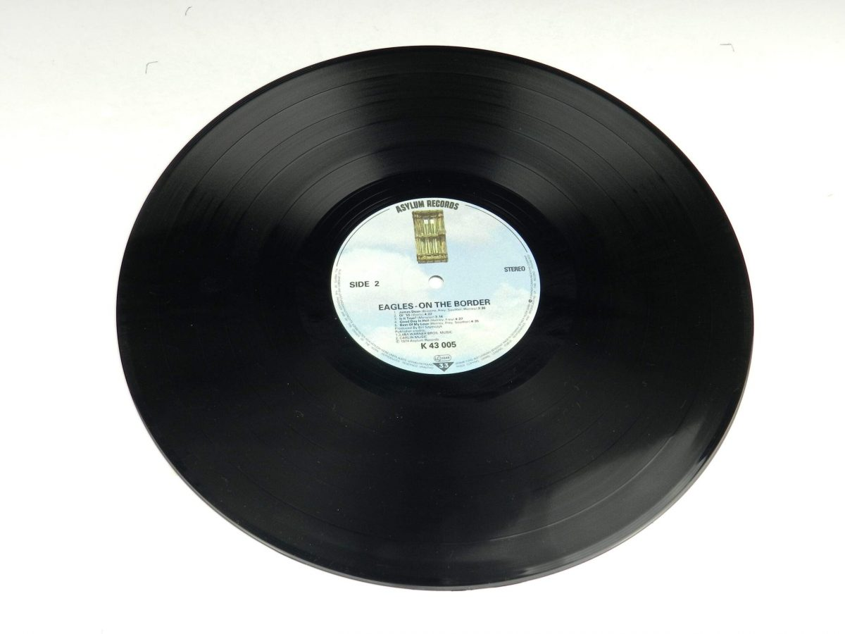 Eagles – On The Border vinyl record side B scaled