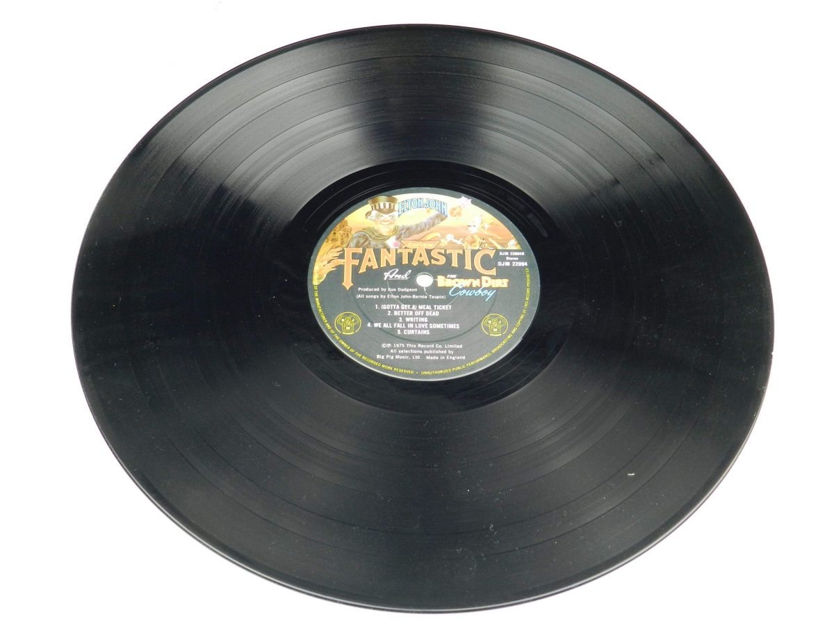 Elton John – Captain Fantastic And The Brown Dirt Cowboy vinyl record side B scaled