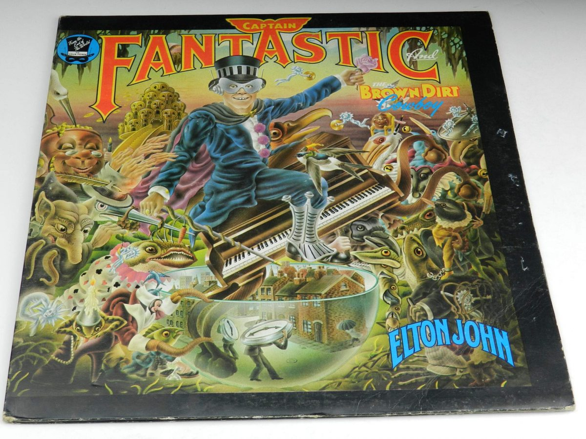 Elton John – Captain Fantastic And The Brown Dirt Cowboy vinyl record sleeve scaled