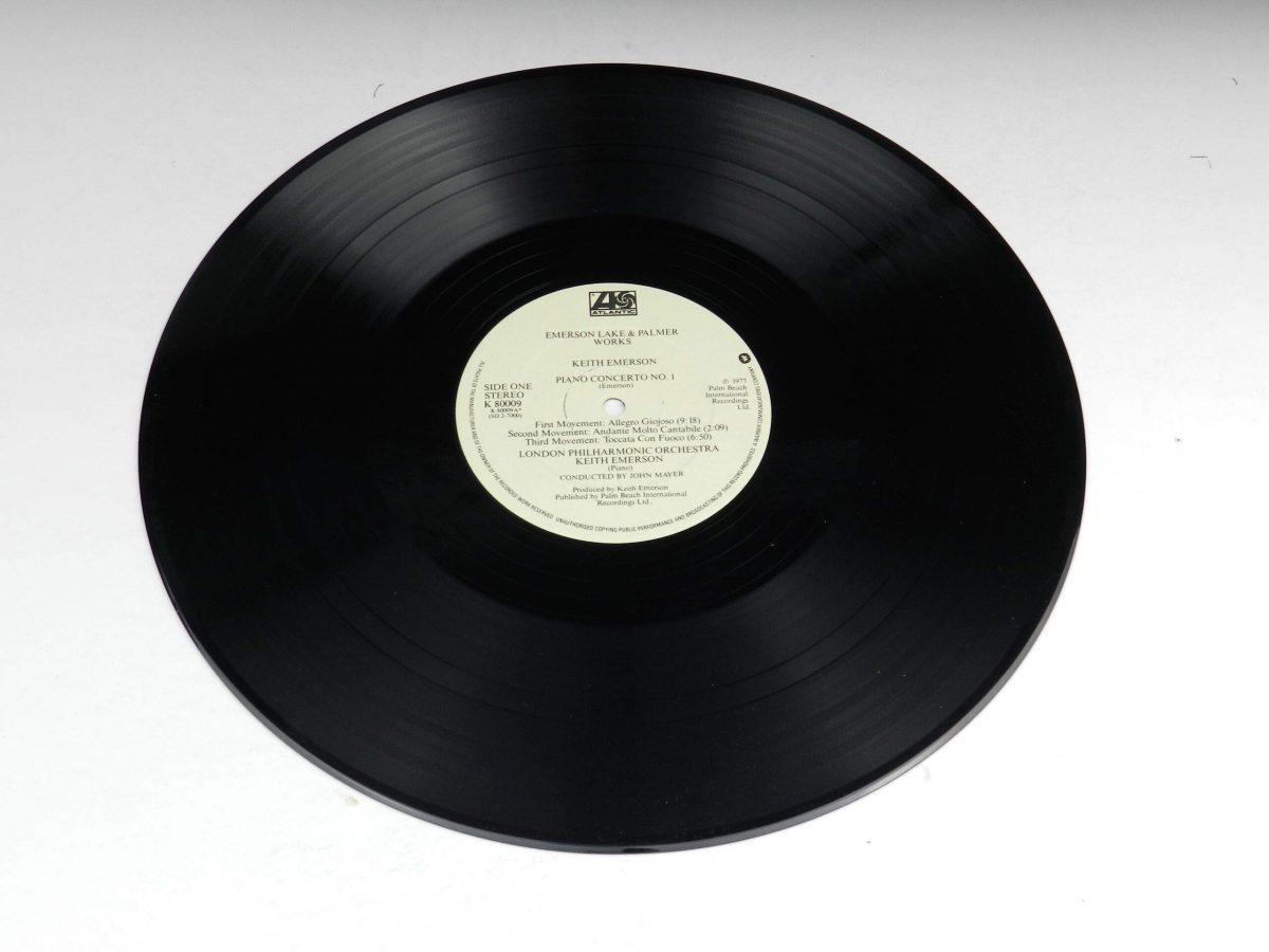 Emerson Lake and Palmer – Works Volume 1 vinyl record 1 side A scaled
