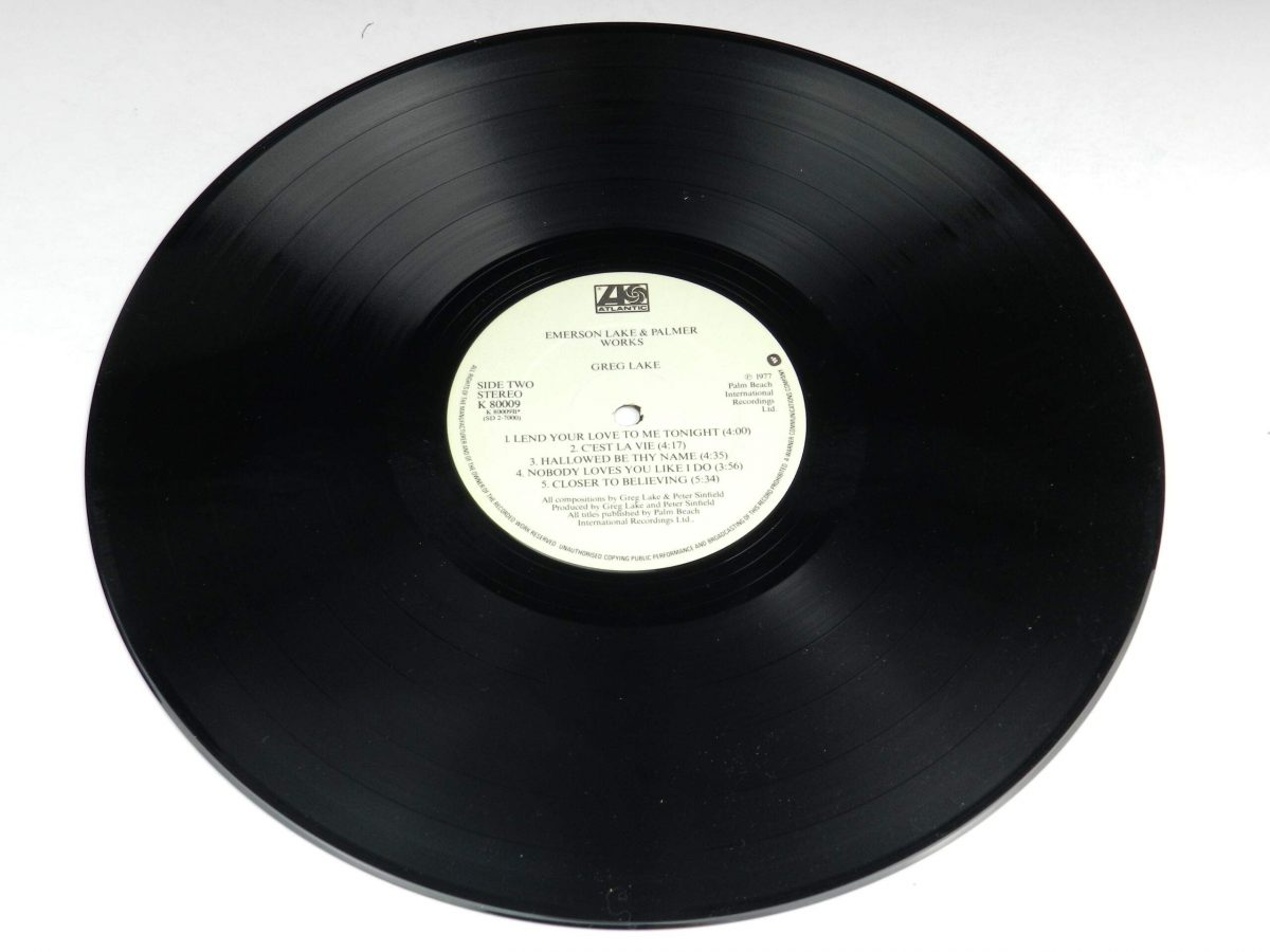 Emerson Lake and Palmer – Works Volume 1 vinyl record 1 side B scaled