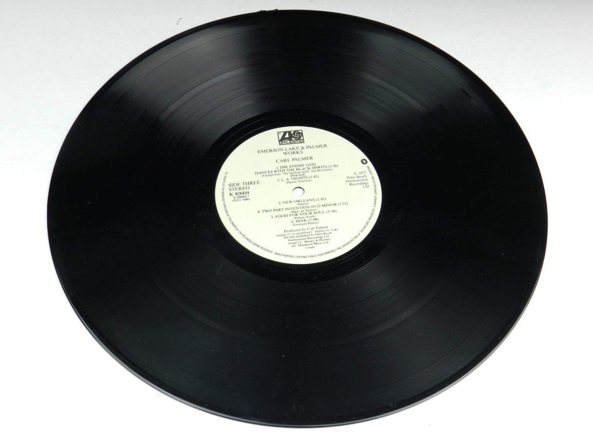 Emerson Lake and Palmer – Works Volume 1 vinyl record 2 side A scaled