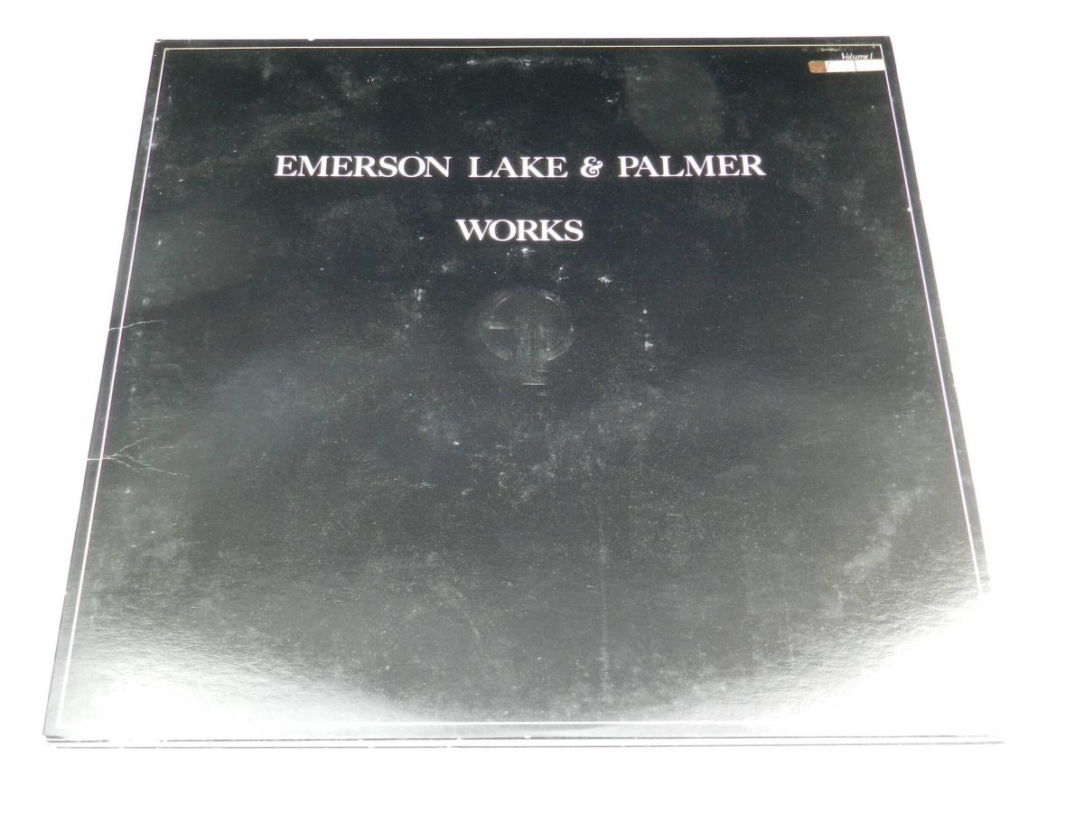 Emerson Lake and Palmer – Works Volume 1 vinyl record sleeve scaled