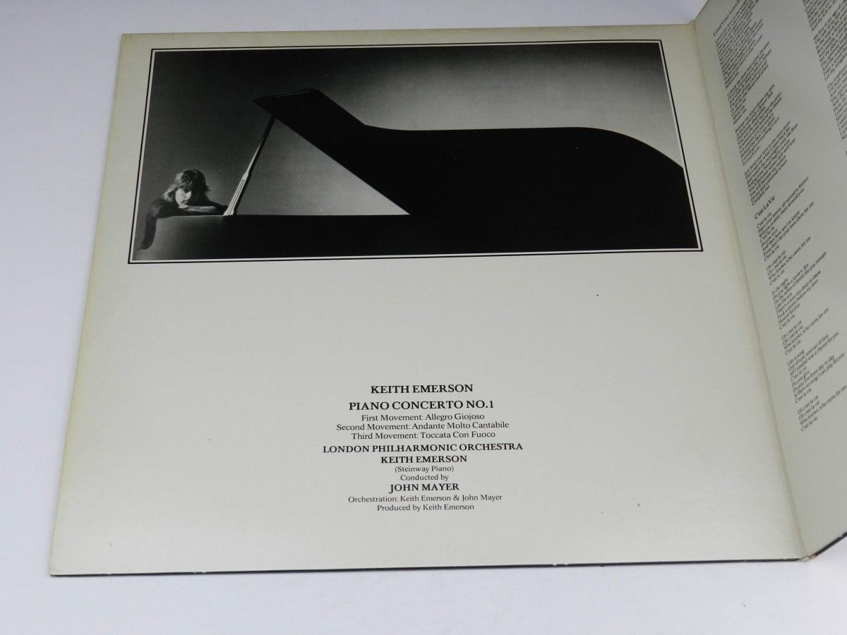 Emerson Lake and Palmer – Works Volume 1 vinyl record sleeve tri 1 scaled