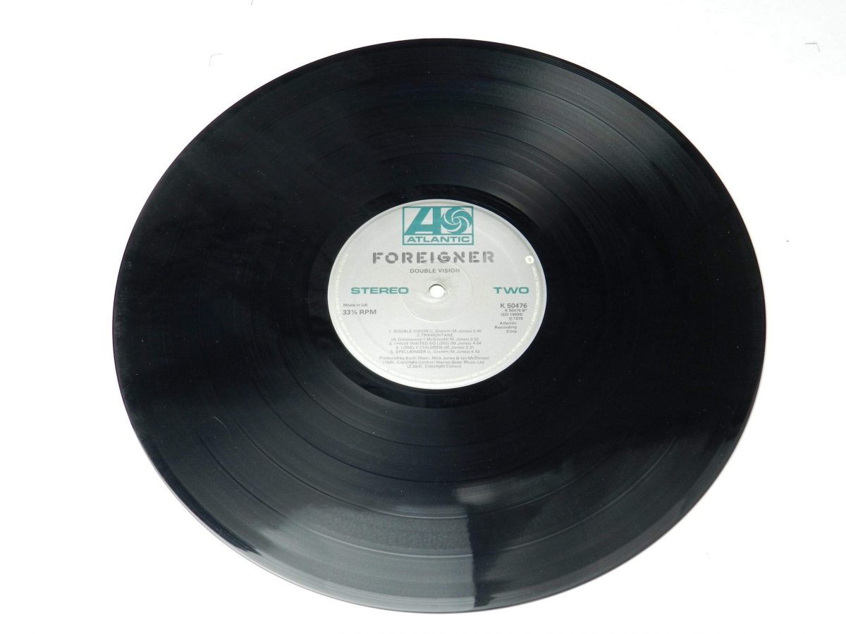 Foreigner – Double Vision vinyl record side B scaled