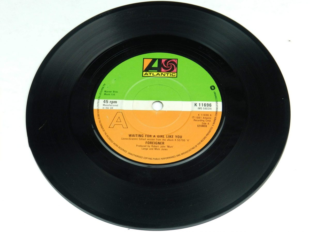 Foreigner – Waiting For A Girl Like You vinyl record side A scaled