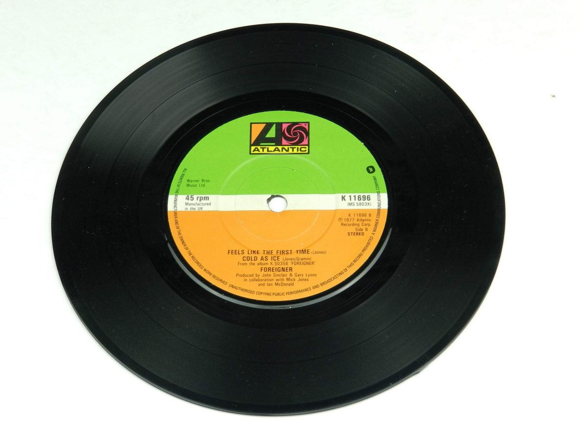 Foreigner – Waiting For A Girl Like You vinyl record side B scaled