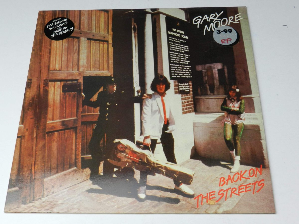Gary Moore – Back On The Streets vinyl sleeve scaled