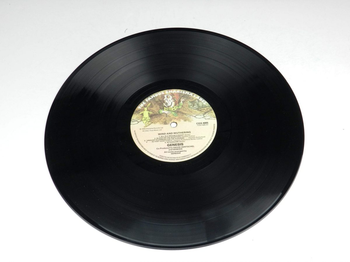 Genesis – Wind and Wuthering vinyl record side B scaled