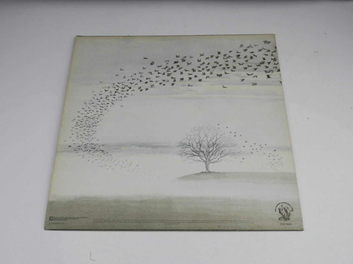 Genesis – Wind and Wuthering vinyl record sleeve rear scaled