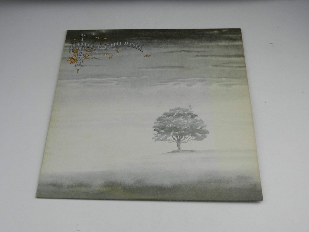 Genesis – Wind and Wuthering vinyl record sleeve scaled