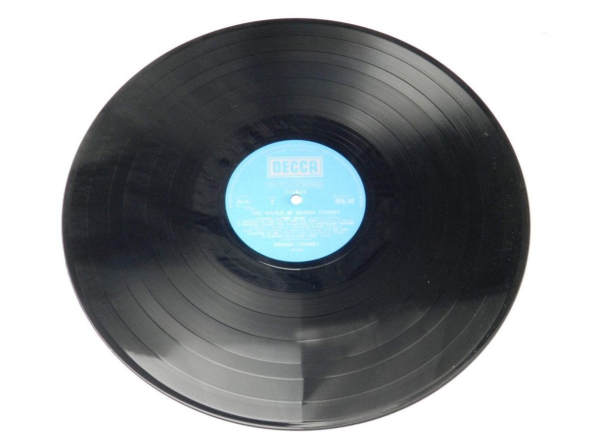 George Formby – The World Of George Formby vinyl record side B scaled